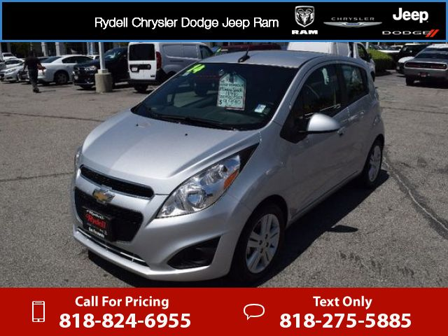 2014 Chevrolet Chevy Spark LT 41k miles Call for Price 41328 miles 818-824-6955 Transmission: Automatic  #Chevrolet #Spark #used #cars #RydellCDJR #SanFernando #CA #tapcars