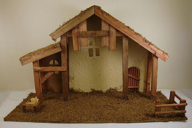 Christmas Crib Nativity Set 6 Inch Wood Effect Figures With Nativity Set Christmas Nativity Scene Diy Crib