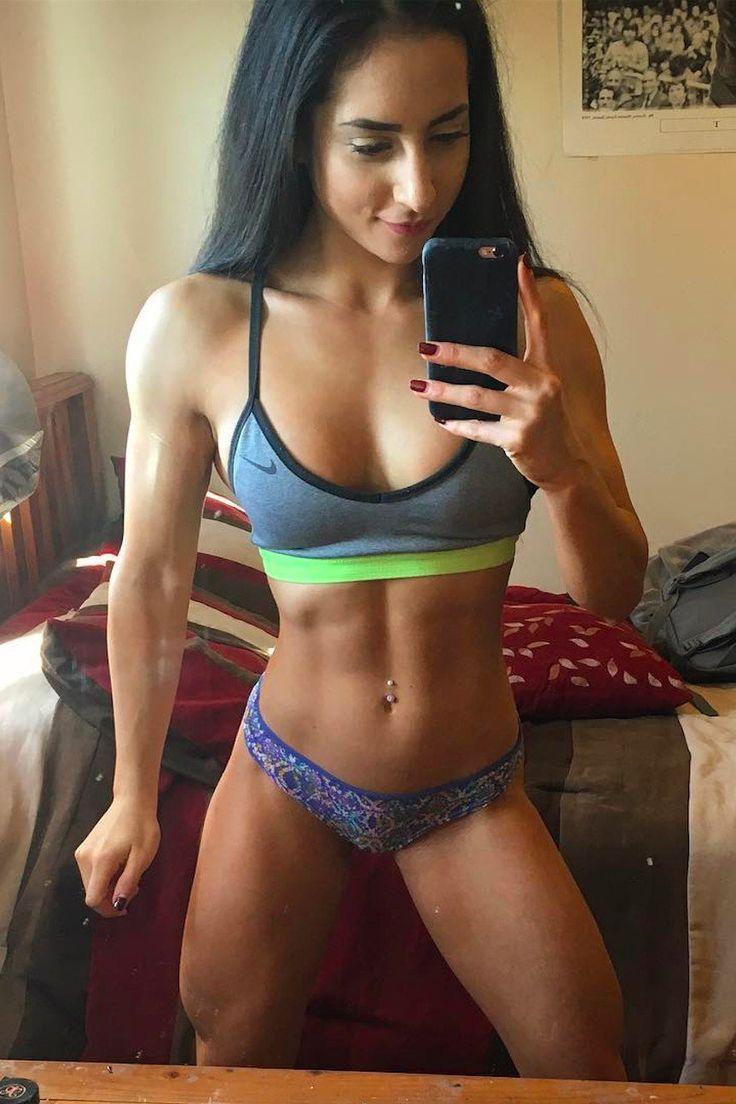 Wie eine Frau ihre Magersucht besiegte und zur Bodybuilderin wurde
