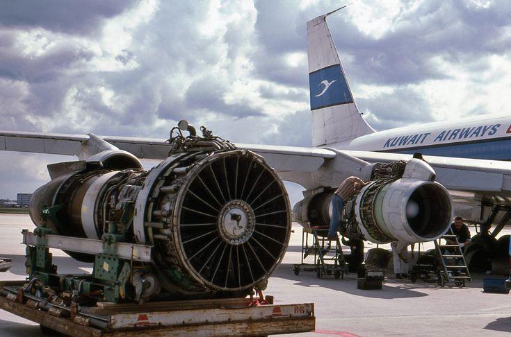 Boeing 707/720 Memories by Rob Hemelrijk: Kuwait Airways Cargo