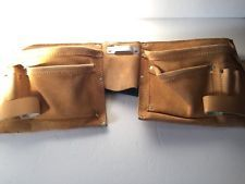 Tool Belt Construction Carpenter Craftsman Electrician Work Leather Apron Pouch