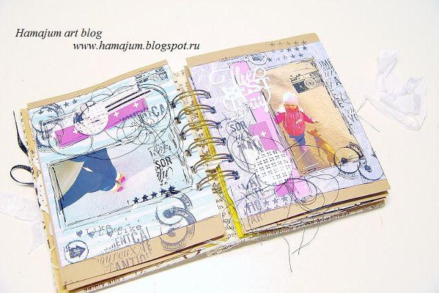 hamajum art blog: МИНИк в стиле фристайл) Полный альбом у меня в блоге