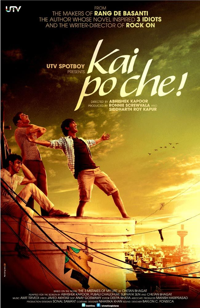 Kai Po Che Buy DVD's, VCD's and Blu-ray of Bollywood Movies, Hollywood Movies, Movies & Music, audio cd, Regional Indian Movies, PS3 games, TV-Show @ clickoncart.com. Best deals on latest movies VCD and Dvds, Blu-ray online in india with free shipping - clickoncart.com.