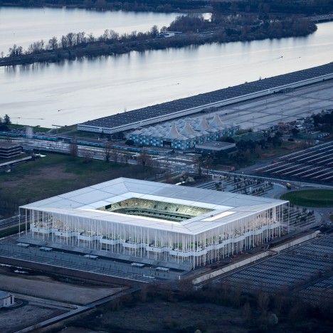 Euro 2016 venues: Stade de Bordeaux by Herzog & de Meuron