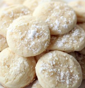 Easy Lemon Crinkle Cookies only take 9 minutes to bake!