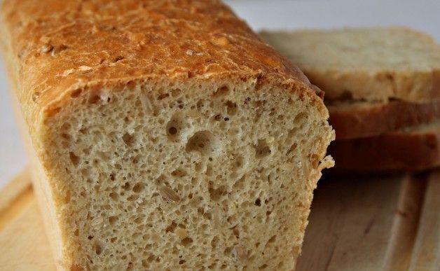 Chleb łatwy i chrupiący
