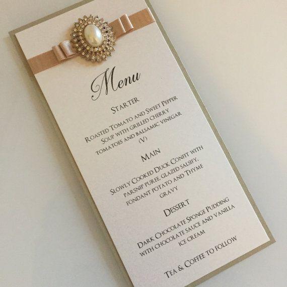 Best 25+ Wedding breakfast menus ideas on Pinterest ...