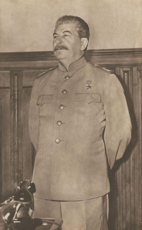 Иосиф Виссарионович Сталин, 1946 ☭