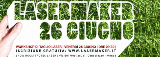 Un workshop per gli aspiranti Designer e Artigiani in gara. #madeinitaly #artigianato #lasermaker #workshop