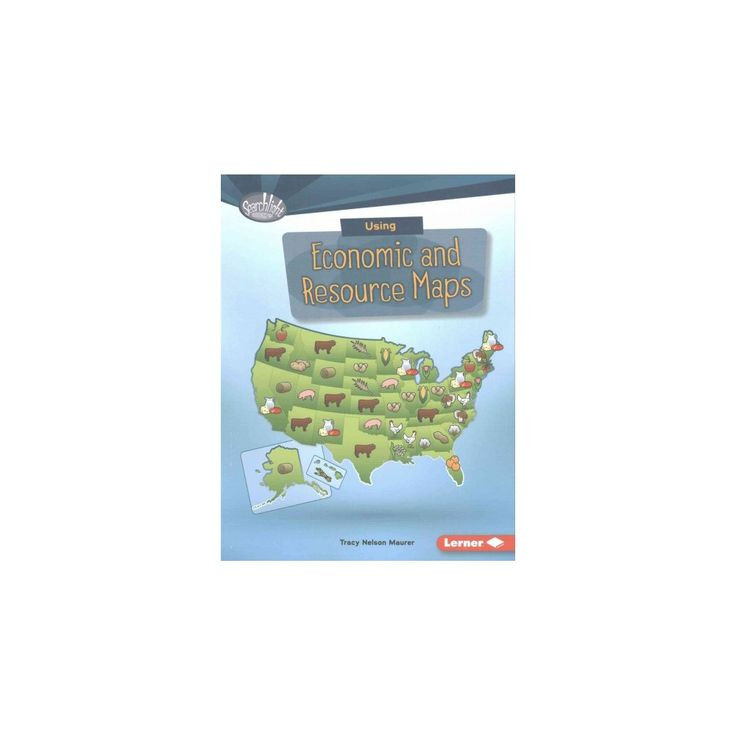 Using Economic and Resource Maps (Paperback) (Tracy Nelson Maurer)