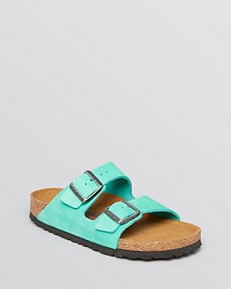 Birkenstock Flat Sandals - Arizona | Bloomingdale's just saw this on the House of Turquoise blog....love the color and i will always wear Birkenstocks!