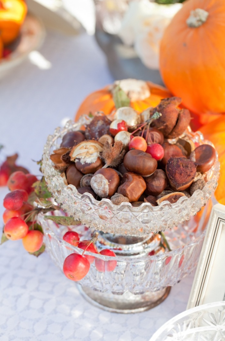 113 best images about fall wedding decor on pinterest for Idee deco table automne