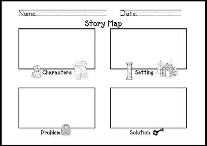 Mrs. Shehan's Retell Form or Story Map | Story Elements | Pinterest ...