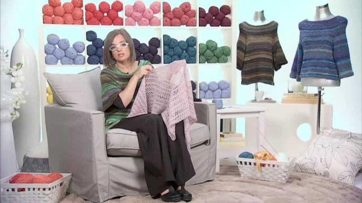 Realizzare uno scialle a maglia/2 Presenta Emma Fassio