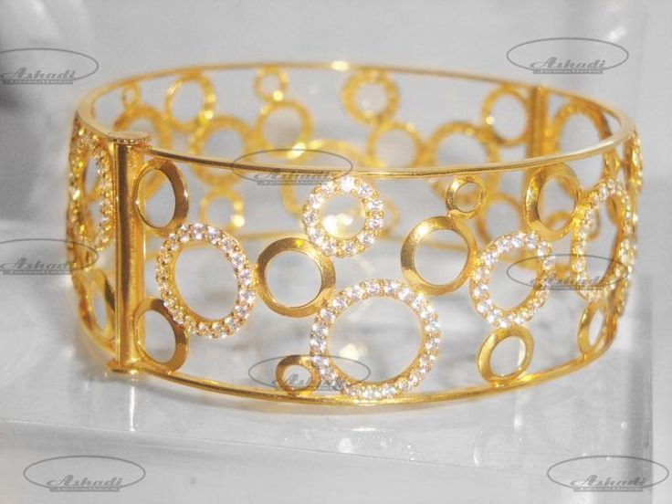 gold broad bangles - Google Search