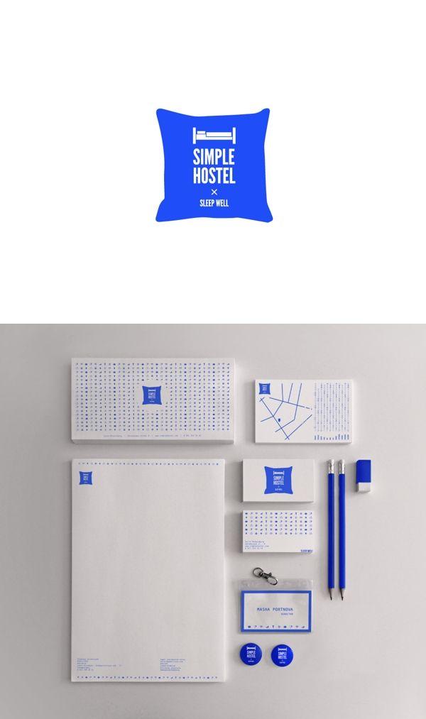 Simple Hostel #Branding, #Identity #Design