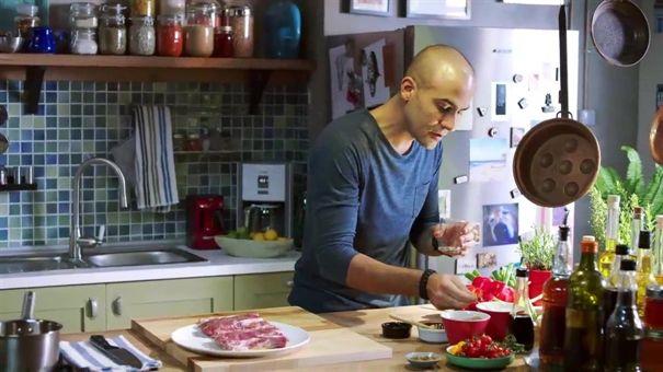 Taze Soğanlı Bütün Kuzu Pirzola BBQ - yemek tarifi | 24Kitchen