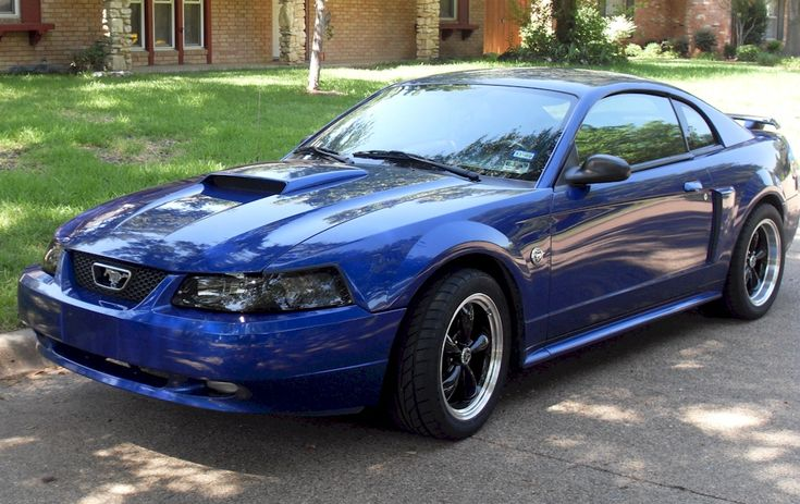 Sonic Blue 2004 Mustang GT Coupe