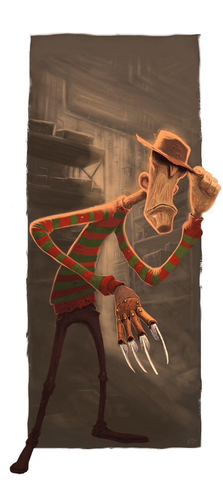 Freddy Krueger by ~thurZ on deviantART