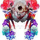 Toothy Feline Skull Impresses Brilliant Drivers Last Century by Michael Pehel