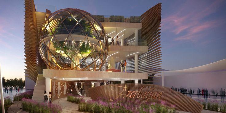 Azerbaïdjan-pavillon-expo-milan-2015-simmetrico-réseau designboom-12