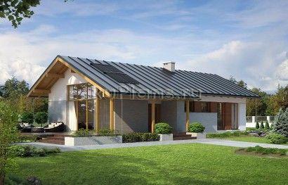 Одноэтажный дом с тремя спальнями R3393 Вид1