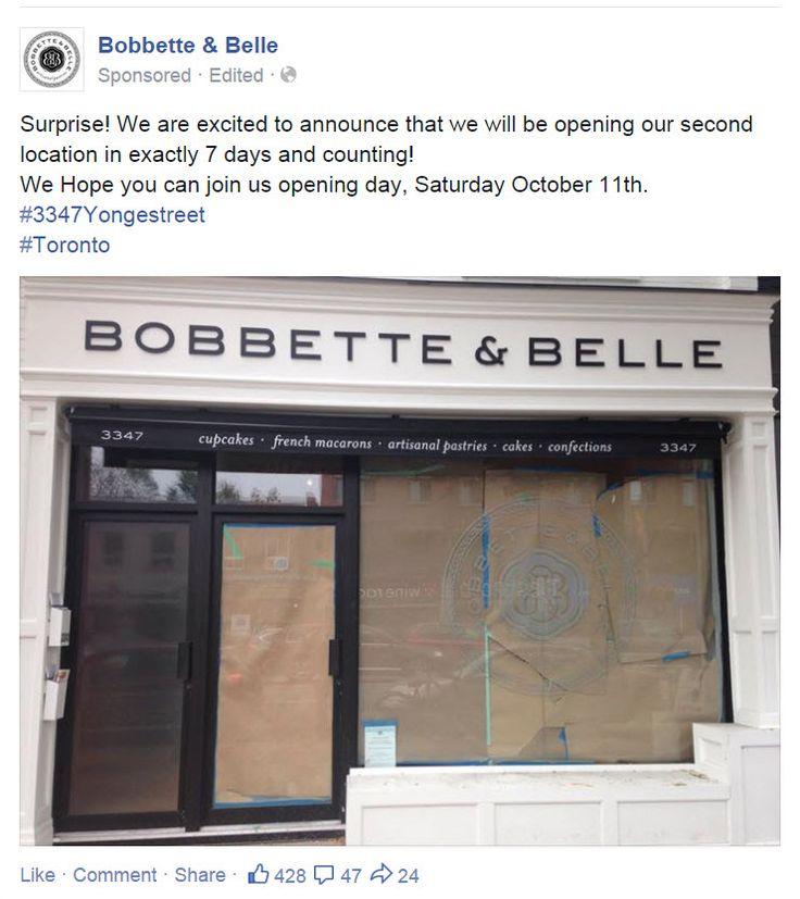 Bobbette & Belle FB Ad