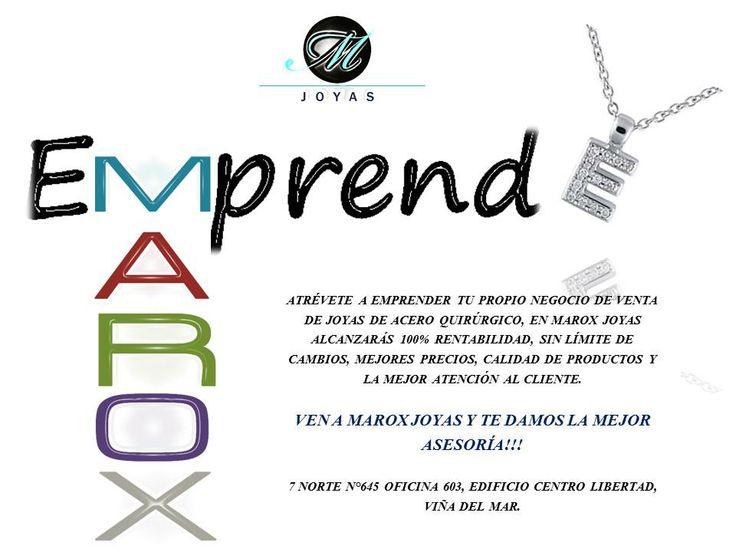 MUJER EMPRENDEDORA ESTA ES LA OPORTUNIDAD QUE ESTAS ESPERANDO, VENDE JOYAS DE ACERO QUIRURGICO DE MAROX JOYAS.