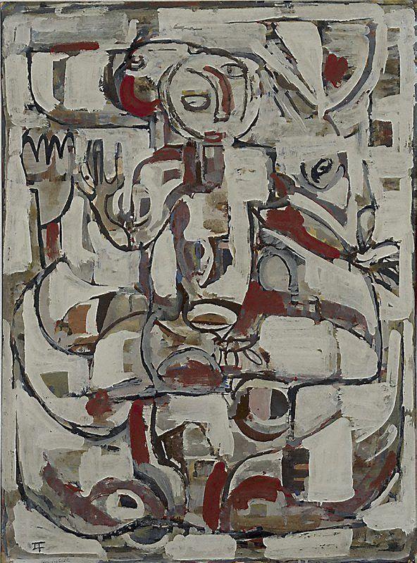 peira:  insearchofanhonestman: Ian Fairweather: Roi Soleil (1956-1957)