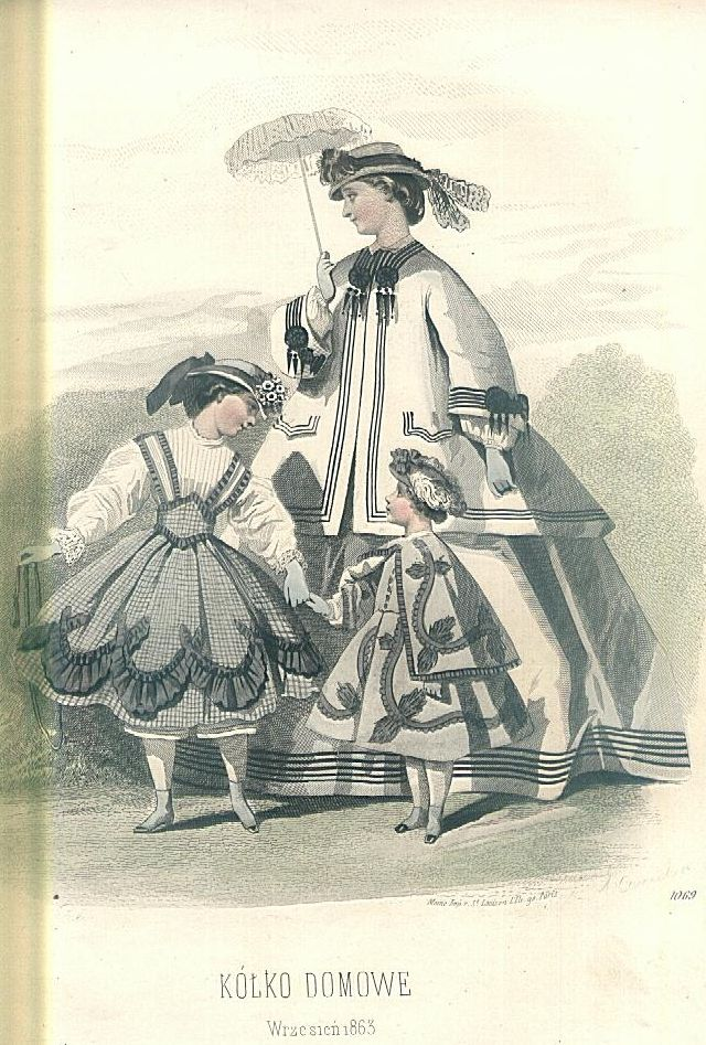 1865 Fashion Plate