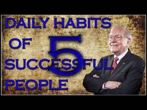 5 Daily Habits of Successful People | Entrepreneur Topics