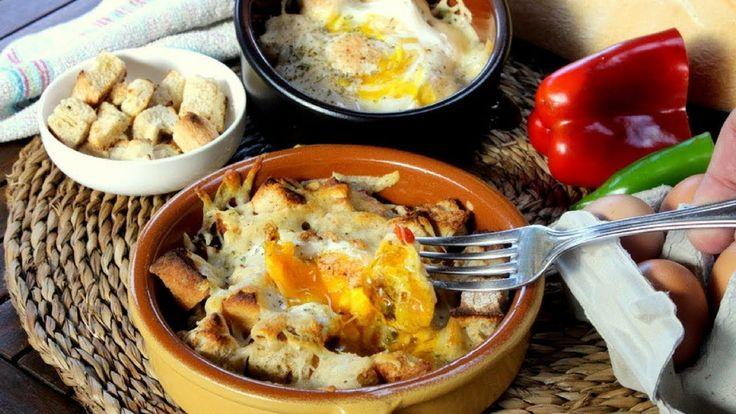 Huevos napoleon, receta facil, barata y rapida