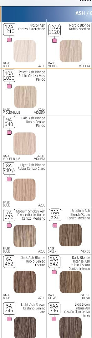 1000 ideas about wella color charm chart on pinterest - Wella Color Charm
