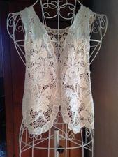 Lace Vest, one size