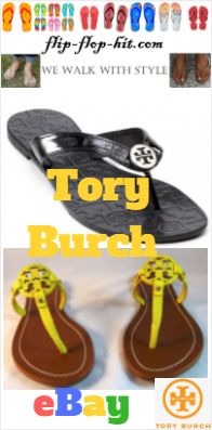Tory Burch exclusive flip-flops, Info, shop, review, Best flip-