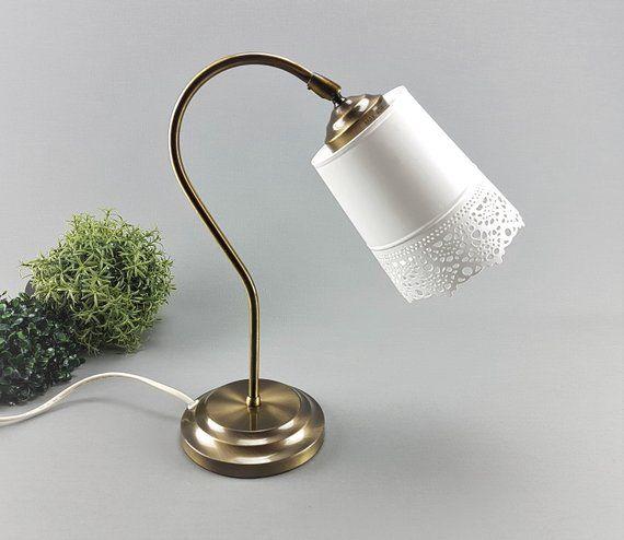 Vintage Lampe Tischlampe Schreibtischlampe Nachttischlampe Etsy Desk Lamp Lamp Table Lamp