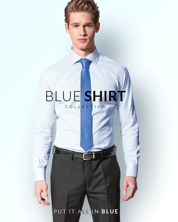 Blue Shirt Collection, discover our new blue fabrics: http://www.tailor4less.com/en-us/collections/custom-dress-shirts/blue-shirt-collection/