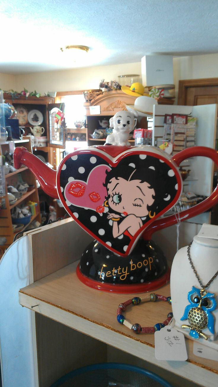 Betty Boop Anyone We Have Disney TeaPots Too Along With New And Vintage