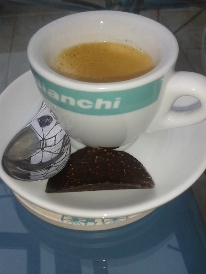 Bianchi Espresso #cyclingandcoffee