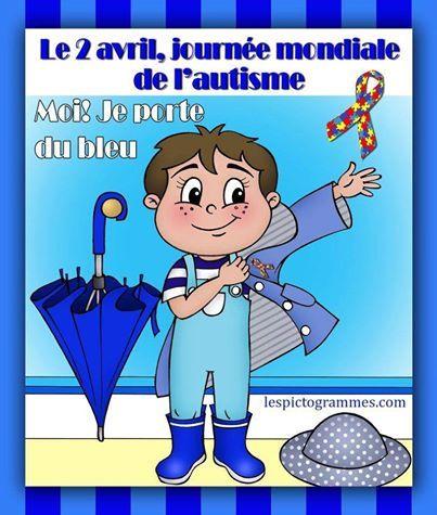 Αποτέλεσμα εικόνας για 2 avril autisme