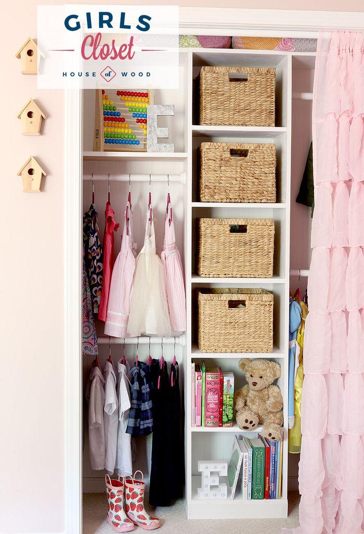 Girl s Custom Closet. Best 25  Little girl closet ideas on Pinterest   Girl closet