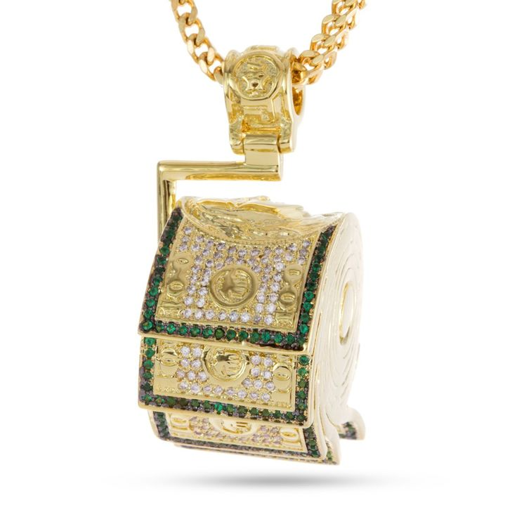 The Money Roll Necklace - Designed by Snoop Dogg x King Ice