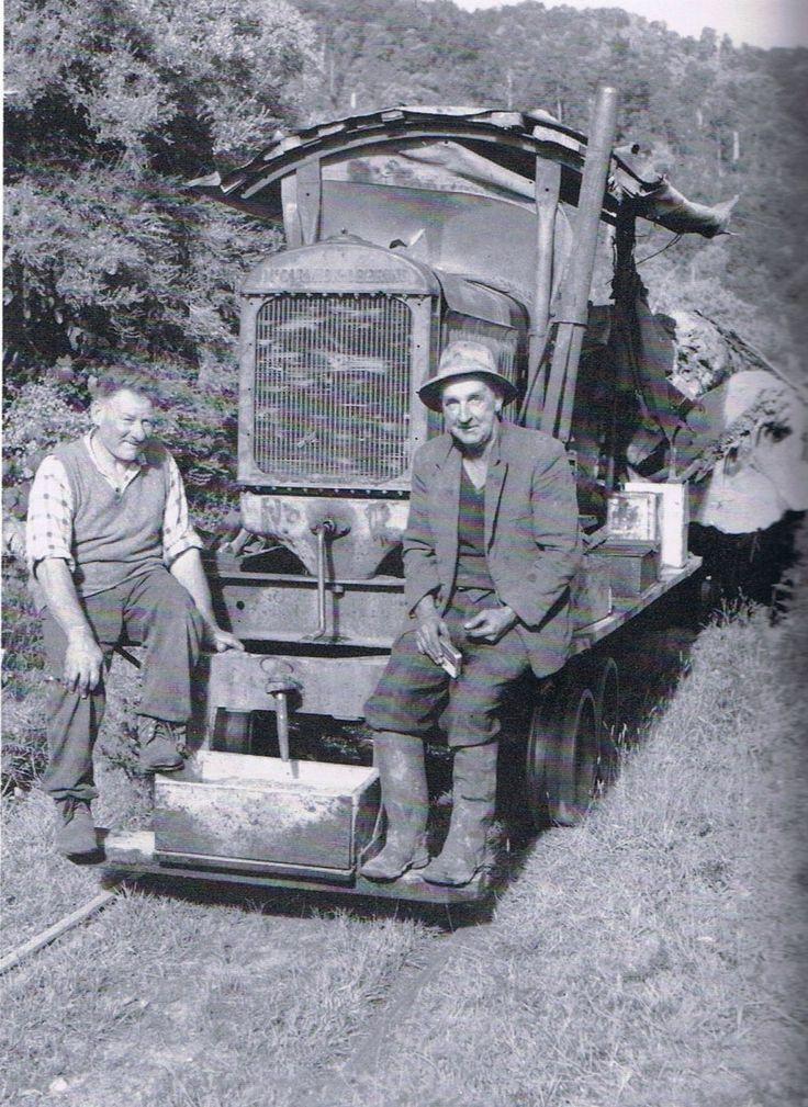 Kanieri Hokitika Sawmills lokey | West Coast New Zealand History