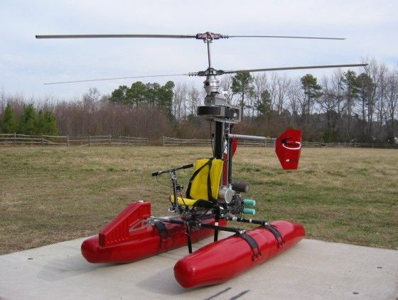 AirScooter II Ultralight Helicopter - Hacked Gadgets – DIY Tech Blog