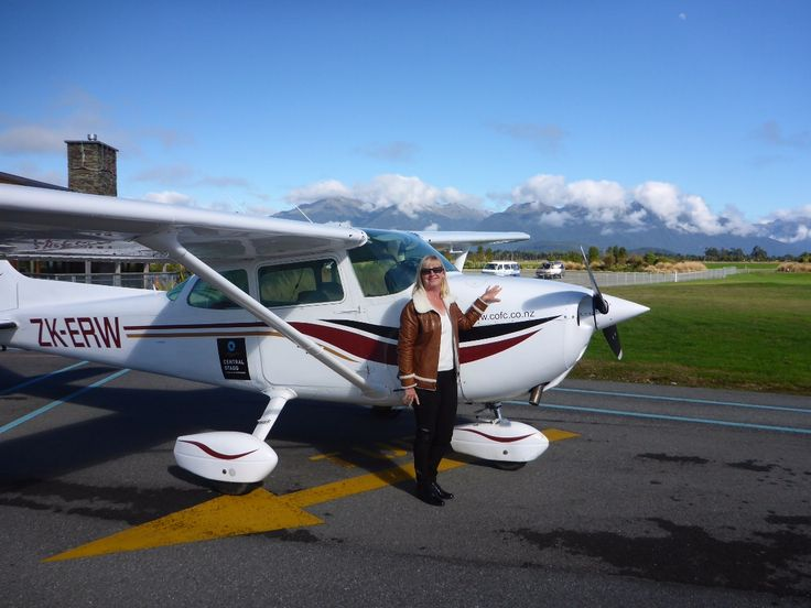 Another shot of Te Anau Manapouri Airport, South Island, New Zealand.