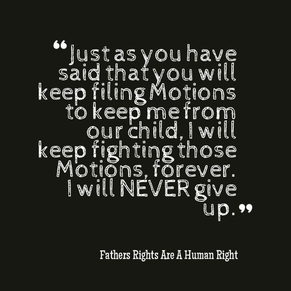 Parental alienation counted out