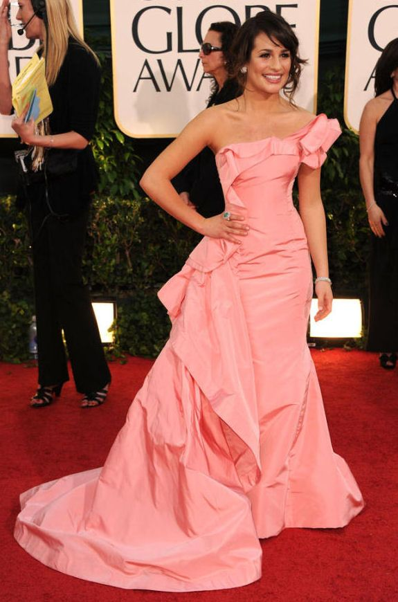 I adore this dress, which is weird, 'cause I don't much care for pink.