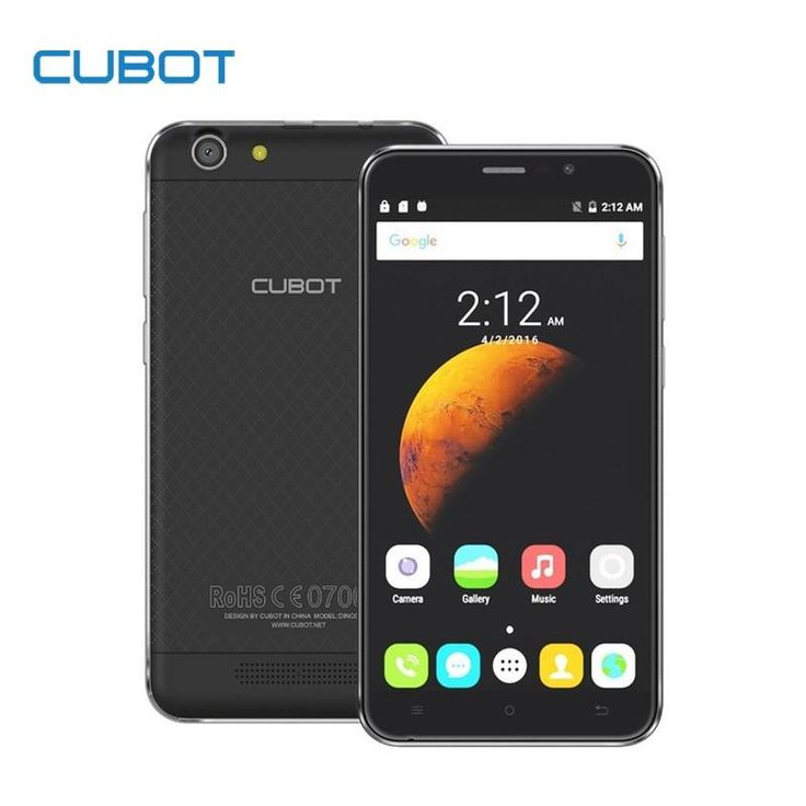 Cubot Dinosaur MTK6735A Quad Core Android 6.0 Smartphone 5.5 Inch 4150mAh Cell Phone 3GB RAM 16GB ROM Unlocked Mobile Phone