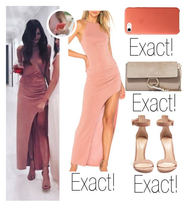 """""""Eleanor Calder - Instagram"""" by celebritiesstylefound on Polyvore featuring Lovers + Friends, Gianvito Rossi and Chloé"""