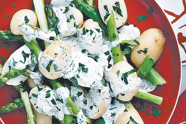 Potato And Asparagus Salad Recipe - Taste.com.au